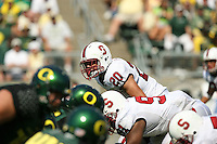 2 September 2006: Clinton Snyder (20) during Stanford's 48-10 loss to the Oregon Ducks at Autzen Stadium in Eugene, OR.