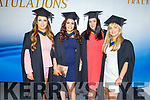 Nursing graduates, Christina Geary, Jennifer Byrnes, Mairead Walsh and Melissa Flavin graduating from the I T Tralee on Friday.