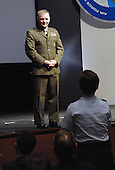 United States Marine Corps General James E. Cartwright, vice chairman of the Joint Chiefs of Staff, speaks at the Air Force Information Technology Conference, August 24, 2009, in Montgomery, Alabama. Cartwright is a target of a Justice Department investigation into a leak of information about a covert U.S.-Israeli cyberattack on Iran's nuclear program.<br /> Mandatory Credit: Monique Randolph / DoD via CNP