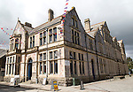 Public library, Truro, Cornwall, England, UK
