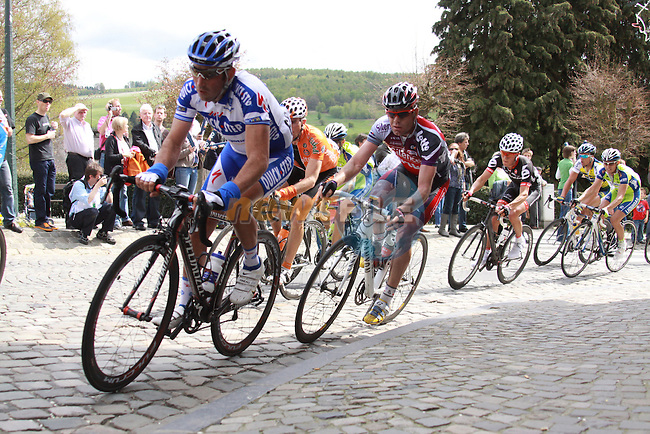 Cadel Evans in action from the 2009 Liège-Bastogne-Liège - 26th April 2008 (Photo by Manus O'Reilly/NEWSFILE)