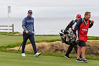 Bernd Wiesberger (AUT) heads down 18 during round 4 of the 2019 US Open, Pebble Beach Golf Links, Monterrey, California, USA. 6/16/2019.<br /> Picture: Golffile | Ken Murray<br /> <br /> All photo usage must carry mandatory copyright credit (© Golffile | Ken Murray)