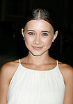 """UNIVERSAL CITY, CA. - August 14: Actress Olesya Rulin attends a """"Green"""" Gala hosted by Governor Arnold Schwarzenegger at Universal Studios on August 14, 2008 in Universal City, California."""