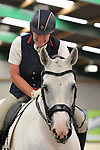 Class 8. Elementary 44. Unaffiliated dressage. Brook Farm training centre. Essex. 09/09/2017. MANDATORY Credit Garry Bowden/Sportinpictures - NO UNAUTHORISED USE - 07837 394578
