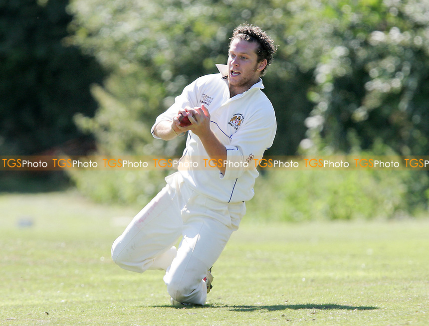 A Khan of Noak Hill holes out to Hurford of Hornchurch Athletic - Noak Hill Taverners CC vs Hornchurch Athletic CC - Lords International Cricket League -  04/08/07 - MANDATORY CREDIT: Gavin Ellis/TGSPHOTO - SELF-BILLING APPLIES WHERE APPROPRIATE. NO UNPAID USE. TEL: 0845 094 6026..