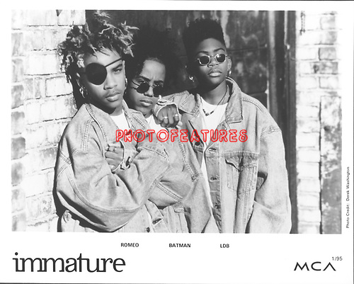 Immature 1995..photo from promoarchive.com/ Photofeatures....