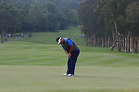 Prom Meesawat (THA) on the 6th green during Round 1 of the UBS Hong Kong Open, at Hong Kong golf club, Fanling, Hong Kong. 23/11/2017<br /> Picture: Golffile | Thos Caffrey<br /> <br /> <br /> All photo usage must carry mandatory copyright credit     (&copy; Golffile | Thos Caffrey)