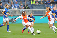 Kansas City, Kansas - April 12, 2015: Sky Blue defeated FC Kansas City 1-0 in the season opener at Sporting Park.