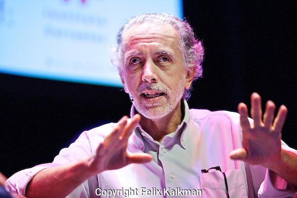 Utrecht, 26 september 2014<br /> Binger Screen Int Interview<br /> Nederlands FIlm Festival<br /> Oscar winning director Fernando Trueba (Spain) <br /> Photo by Felix Kalkman