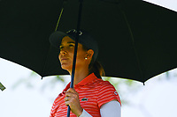 SINGAPORE - MARCH 02: Azahara Munoz of Spain on the 6th during the third round of the HSBC Women's World Championship 2019 at Sentosa Golf Club - Tanjong Course, Singapore on March 02, 2019.<br /> .<br /> .<br /> .<br /> (Photo by: Naratip Golf Srisupab/SEALs Sports Images)<br /> .<br /> Any image use must include a mandatory credit line adjacent to the content which should read: Naratip Golf Srisupab/SEALs Sports Images