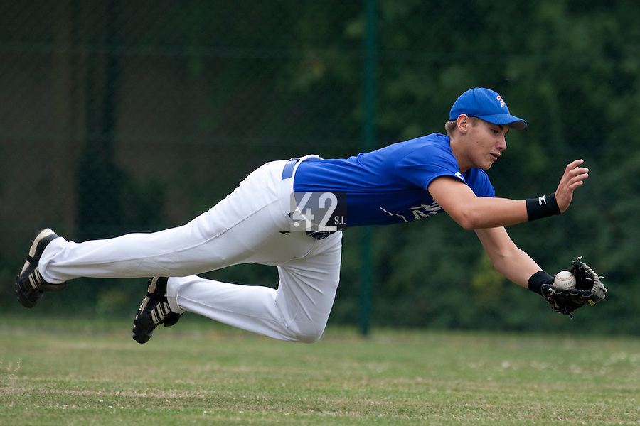 23 September 2009: Pole Baseball Rouen, Bastien Dagneau
