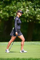 Belen Mozo (ESP) reacts to barely missing her putt on 15 during Thursday's round 1 of the 2017 KPMG Women's PGA Championship, at Olympia Fields Country Club, Olympia Fields, Illinois. 6/29/2017.<br /> Picture: Golffile | Ken Murray<br /> <br /> <br /> All photo usage must carry mandatory copyright credit (&copy; Golffile | Ken Murray)