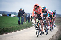 Greg Van Avermaet (BEL/CCC) chasing. <br /> <br /> 74th Omloop Het Nieuwsblad 2019 (BEL)<br /> Gent – Ninove: 200km<br /> ©kramon