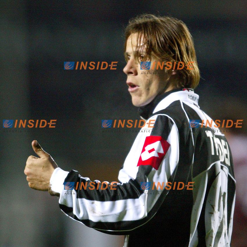 Siena 28/2/2004 <br /> Siena Reggina 0-0 <br /> Rodrigo Taddei (Siena) <br /> Foto Andrea Staccioli Insidefoto