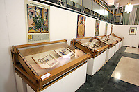 Manoscritti antichi nella Biblioteca Estense Universitaria di Modena.<br /> Ancient manuscripts in Modena's Biblioteca Estense library.<br /> UPDATE IMAGES PRESS/Riccardo De Luca