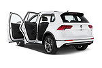 Car images close up view of a 2019 Volkswagen Tiguan Highline 5 Door SUV doors