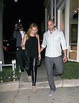 June 14th 2012    Thursday night ..Haylie Duff holding hands with a mystery man dine at Koi Restaurant in West Hollywood , CA...AbilityFilms@yahoo.com.805-427-3519.www.AbilityFilms.com