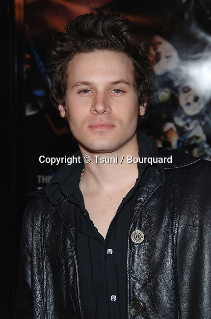 Kris Lemche arriving at the FINAL DESTINATION 3 Premiere at the Chinese Theatre In Los Angeles. February 1, 2006.