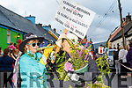 Just gone to pot<br /> ----------------------<br /> Local ladies, Eitlen Griffin and Maryjo Murphy during the parade in Cloghane last Sunday.