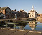 Seventeenth century Custom House building at King's Lynn, Norfolk, England