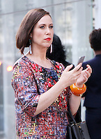 NEW YORK, NY-August 17:  Miriam Shor shooting the current season of TV LAND Younger in New York. August 17, 2016. Credit:RW/MediaPunch