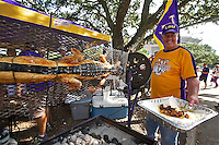 P- LSU Tiger Stadium- Tailgating and Pre-game Experience, Baton Rouge LA 10 13