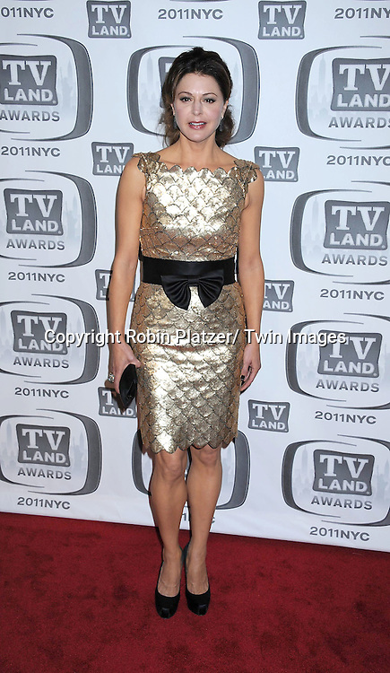 Jane Leeves attending The TV Land Awards 2011 .on April 10, 2011 at the Jacob Javits Center in New York City.