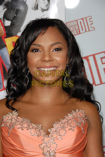 "ASHANTI.Los Angeles Premiere of ""John Tucker Must Die"" held at The Grauman's Chinese Theatre in Hollywood, California  .July 25th, 2006.Ref: DVS.headshot portrait strapless.www.capitalpictures.com.sales@capitalpictures.com.©Debbie VanStory/Capital Pictures"