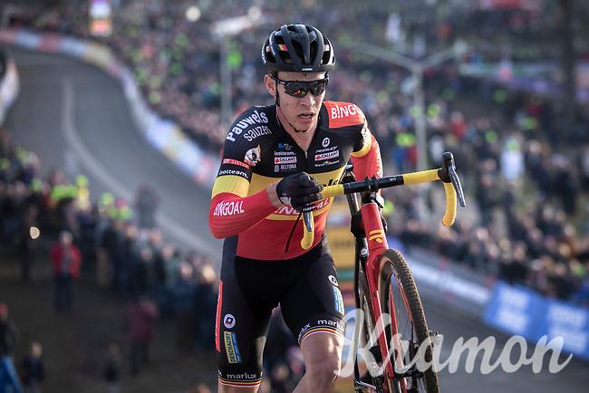 Belgian National Champion Laurens Sweeck (BEL/Pauwels Sauzen - Bingoal) <br /> <br /> Men Elite Race<br /> UCI Cyclocross Worldcup – Hoogerheide (Netherlands)<br /> <br /> ©kramon