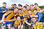 Beaufort players celebrates  after defeating  Milltown Castlemaine in the Mid Kerry final in Killorglin on Sunday
