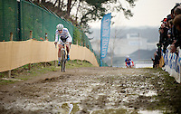race leader Marianne Vos (NLD/Rabo-Liv)<br /> <br /> Zolder CX UCI World Cup 2014