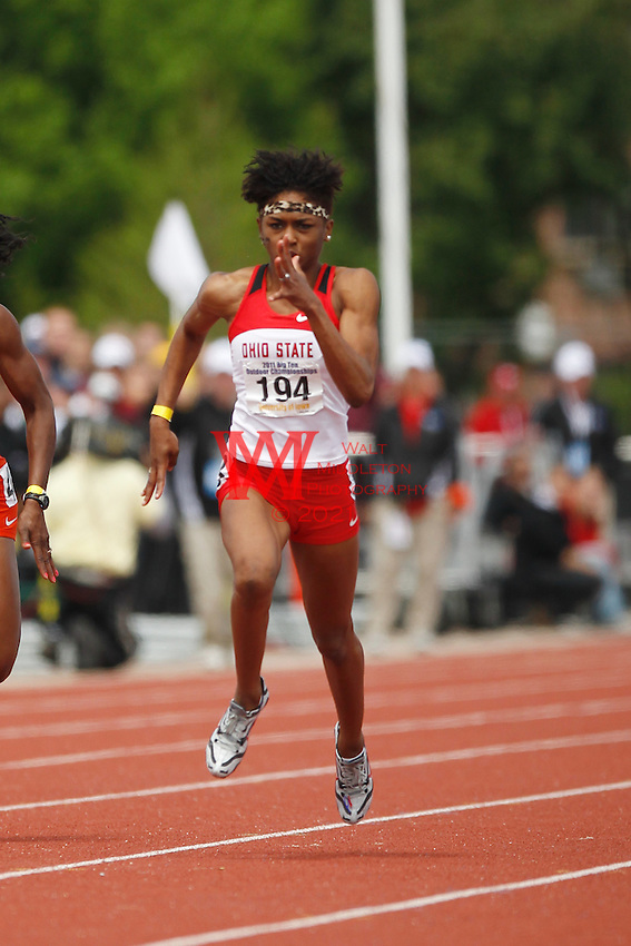 The Ohio State University Track and Field Team competes on the 3rd and final day of Competition... .May 115, 2011.