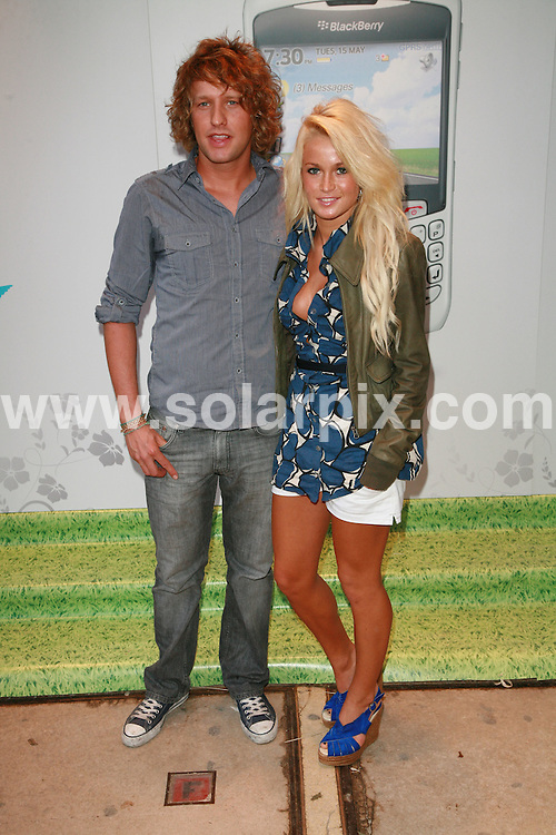 **ALL ROUND PICTURES FROM SOLARPIX.COM**.Celebrity arrivals at the Blackberry Summer Party, Roof Gardens, Kensington High Street, London. 15th May 2007.THIS PIC:BEN LUNT AND LIANNE DAUBEN.JOB REF:3912-GMT   DATE:16_05_07 .**MUST CREDIT SOLARPIX.COM OR DOUBLE FEE WILL BE CHARGED* *UNDER NO CIRCUMSTANCES IS THIS IMAGE TO BE REPRODUCED FOR ANY ONLINE EDITION WITHOUT PRIOR PERMISSION*