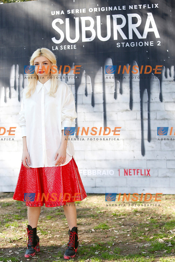 Carlotta Antonelli<br /> Rome February 20th 2019. Photocall for the presentation of the second season of the Netflix series Suburra at Casa del Cinema in Rome.<br /> Foto Samantha Zucchi Insidefoto