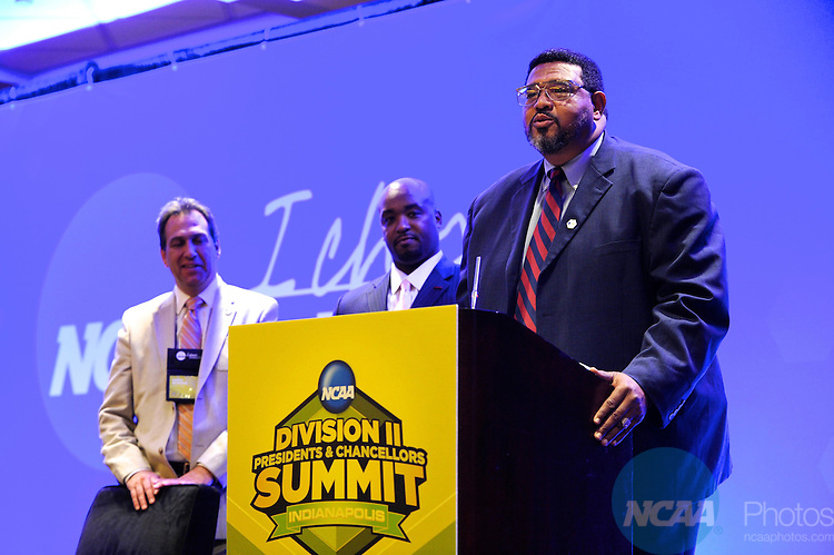 19 JUN 2010: NCAA representatives gather for the Division II Chancellors and Presidents Summit at the Marriott Hotel in Indianapolis, IN ©Brett Wilhelm/NCAA Photos