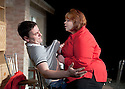 In Basildon by David Elridge, directed by Dominic Cooke. With Lee Ross as Barry, Debbie Chazen as Jackie Opens at The Royal Court Theatre Downstairs on 22/2/12 . CREDIT Geraint Lewis