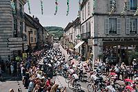 race passage in the village of Arbois<br /> <br /> 104th Tour de France 2017<br /> Stage 8 - Dole › Station des Rousses (187km)