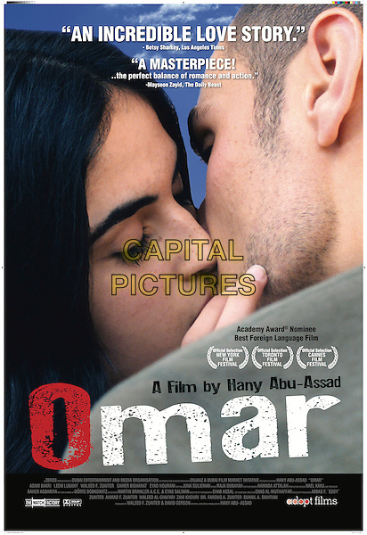 AMERICAN POSTER ART<br /> in Omar (2013) <br /> *Filmstill - Editorial Use Only*<br /> CAP/FB<br /> Image supplied by Capital Pictures