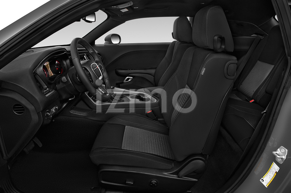 Front seat view of a 2019 Dodge challenger SXT 2 Door Coupe front seat car photos