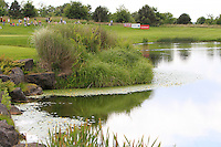 A view of the lake from the 10th green during Round 2 of the Irish Open at Fota Island on Friday 20th June 2014.<br /> Picture:  Thos Caffrey / www.golffile.ie