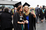 24/10/2014  With Compliments, Attending The Mary Immaculate College Conferrings were Caitriona Duffy, Tyrrellspass, Co. Westmeath and Laura Dineen, Rathmore, Kerry, who were both conferred with a Bachelor of Education (B.Ed)<br /> Pic: Gareth Williams / Press 22