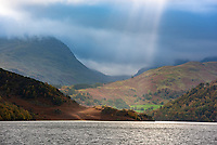Autumn colours at Ullswater, Cumbria in the Lake District.