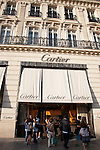 Cartier; Champs Elysees; Paris; France; Europe