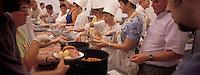Europe/France/Alsace/67/Bas-Rhin/Krautergersheim : Fête de la choucroute  - En Cuisine