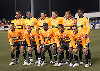 Puntarenas FC starting XI.  Houston Dynamo defeated Puntarenas FC 2-0 at the Aggie Soccer Complex in College Station, TX on March 1, 2007.  The Houston Dynamo advance to the semifinals of the CONCACAF Champions Cup on a 2-1 aggregate.