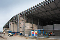 Construction of a new on farm potato store<br /> Picture Tim Scrivener 07850 303986<br /> &hellip;.covering agriculture in the UK&hellip;.