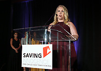 HOLLYWOOD, CA - SEPTEMBER 30: Saving Innocence's Counselor, at The 6th Annual Saving Innocence Gala_Insde at Loews Hollywood Hotel, California on September 30, 2017. Credit: Faye Sadou/MediaPunch