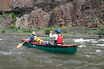 Gordon Congdon and Robbie Scott on John Day River in north central Oregon.