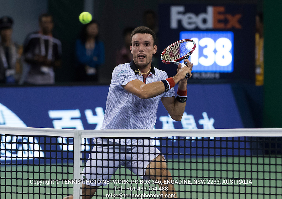 ROBERTO BAUTISTA AGUT (ESP)<br /> <br /> TENNIS - ROLEX SHANGHAI MASTERS - QI ZHONG TENNIS CENTER - MINHANG DISTRICT - SHANGHAI - CHINA - ATP 1000 - 2016  <br /> <br /> <br /> <br /> &copy; TENNIS PHOTO NETWORK