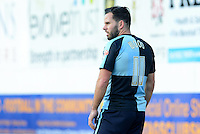 Wycombe Wanderers Sam Wood during the Sky Bet League 2 match between Mansfield Town and Wycombe Wanderers at the One Call Stadium, Mansfield, England on 31 October 2015. Photo by Garry Griffiths.